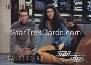 Star Trek The Next Generation Season Three Trading Card 266