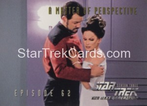 Star Trek The Next Generation Season Three Trading Card 273