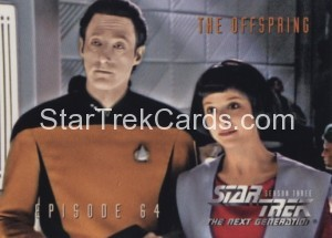 Star Trek The Next Generation Season Three Trading Card 278