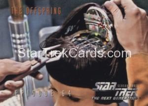 Star Trek The Next Generation Season Three Trading Card 279
