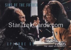 Star Trek The Next Generation Season Three Trading Card 280