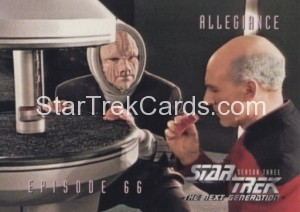 Star Trek The Next Generation Season Three Trading Card 283