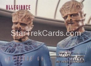 Star Trek The Next Generation Season Three Trading Card 285