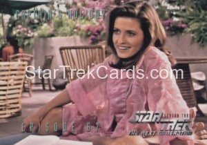 Star Trek The Next Generation Season Three Trading Card 286
