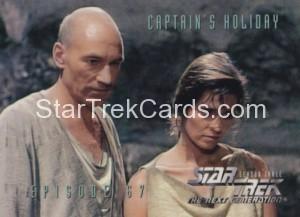 Star Trek The Next Generation Season Three Trading Card 287