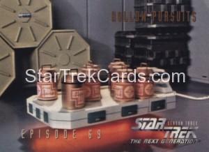 Star Trek The Next Generation Season Three Trading Card 293