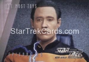 Star Trek The Next Generation Season Three Trading Card 295
