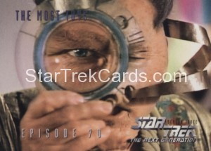 Star Trek The Next Generation Season Three Trading Card 296