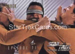 Star Trek The Next Generation Season Three Trading Card 299
