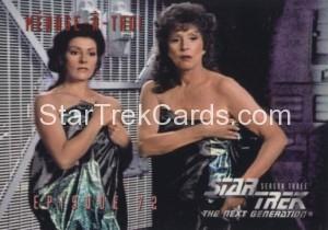 Star Trek The Next Generation Season Three Trading Card 301