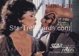 Star Trek The Next Generation Season Three Trading Card 302