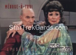 Star Trek The Next Generation Season Three Trading Card 303