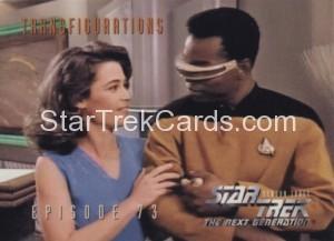 Star Trek The Next Generation Season Three Trading Card 305
