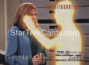 Star Trek The Next Generation Season Three Trading Card 306