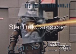 Star Trek The Next Generation Season Three Trading Card 308