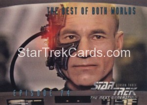 Star Trek The Next Generation Season Three Trading Card 309