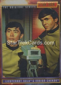 Star Trek The Original Series 30th Anniversary Crew Card 6