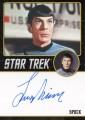 Star Trek The Original Series Portfolio Prints Autograph Leonard Nimoy Front