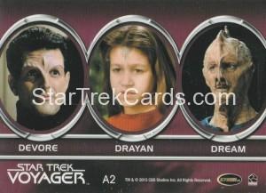 Star Trek Voyager Heroes Villains Aliens A2 Back