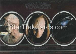 Star Trek Voyager Heroes Villains Aliens A2 Front