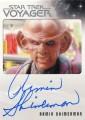 Star Trek Voyager Heroes Villains Autograph Armin Shimerman Front