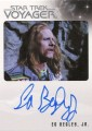 Star Trek Voyager Heroes Villains Autograph Ed Begley Jr Front