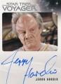 Star Trek Voyager Heroes Villains Autograph Jerry Hardin Front