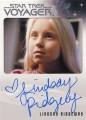 Star Trek Voyager Heroes Villains Autograph Lindsay Ridgeway Front