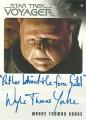 Star Trek Voyager Heroes Villains Autograph Wayne Thomas Yorke Variant 1