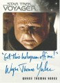 Star Trek Voyager Heroes Villains Autograph Wayne Thomas Yorke Variant 2
