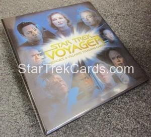 Star Trek Voyager Heroes Villains Binder