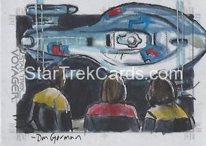 Star Trek Voyager Heroes Villains Sketch Dan Gorman Front 2