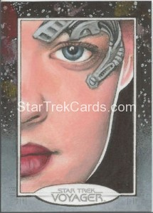 Star Trek Voyager Heroes Villains Sketch Michael James Front